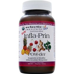 ECLECTIC INSTITUTE Fresh freeze-dried Infla-Prin POW-der 90 grams