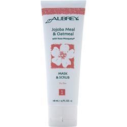 AUBREY Jojoba Meal & Oatmeal Mask & Scrub Dry Skin 4 fl.oz