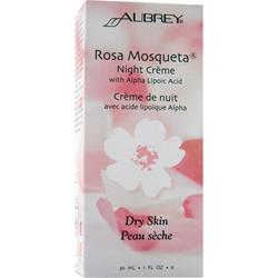 Aubrey Rosa Mosqueta Night Creme with Alpha Lipoic Acid Dry Skin* 1 fl.oz