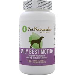 PET NATURALS OF VERMONT Daily Best Motion For Dogs 120 tabs