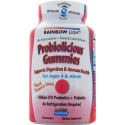 RAINBOW LIGHT Probiolicious Gummies 50 gummy