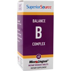 Superior Source MicroLingual Balance B Complex 60 tabs