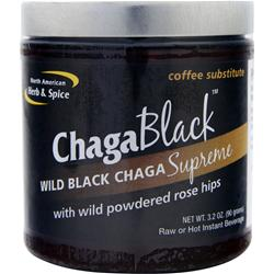 NORTH AMERICAN HERB & SPICE Chaga Black 3.2 oz