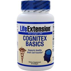 LIFE EXTENSION Cognitex Basics 60 sgels