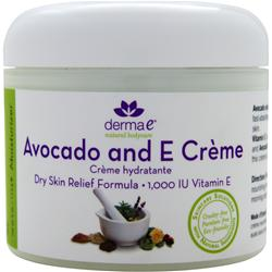 DERMA-E Avocado and E Creme 4 oz