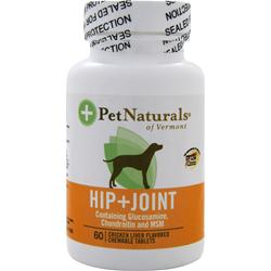 Pet Naturals Of Vermont Hip & Joint For Dogs 60 tabs