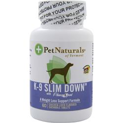 PET NATURALS OF VERMONT K-9 Slim Down 60 tabs