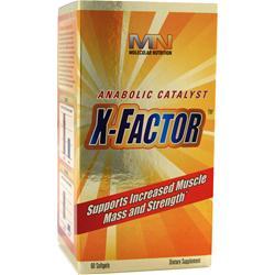 MOLECULAR NUTRITION X-Factor 60 sgels