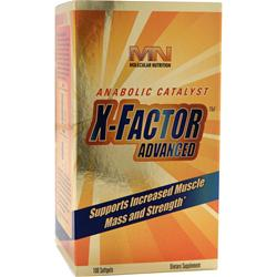 MOLECULAR NUTRITION X-Factor Advanced 100 sgels