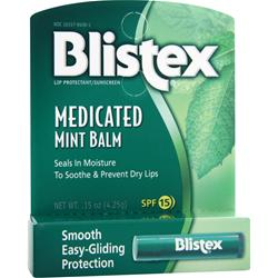 Blistex Medicated Mint Balm .15 oz