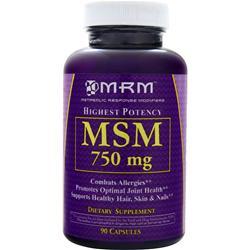 MRM MSM (750mg) 90 caps