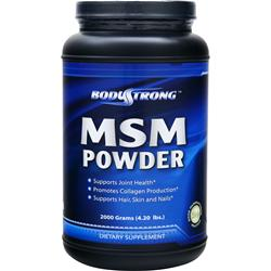 BODYSTRONG MSM Powder 2000 grams
