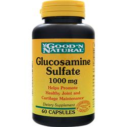 GOOD 'N NATURAL Glucosamine Sulfate (1000mg) 60 caps