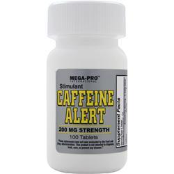 MEGA PRO Stimulant Caffeine Alert (200mg) 100 tabs