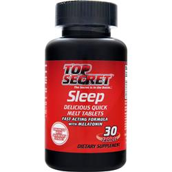 TOP SECRET NUTRITION Sleep Best by 8/14 30 tabs