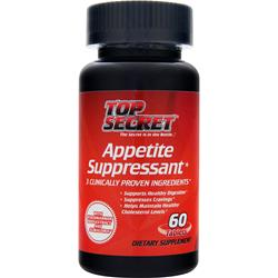 TOP SECRET NUTRITION Appetite Suppressant 60 tabs