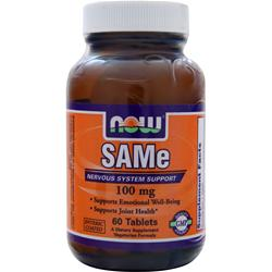 NOW SAMe (100mg) 60 tabs