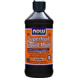NOW Superfruit Liquid Multi Acai 16 fl.oz