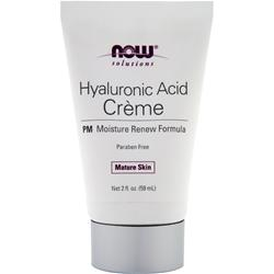 NOW Hyaluronic Acid Creme - PM Moisture Renew Formula 2.1 fl.oz