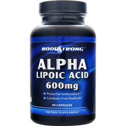 BODYSTRONG Alpha Lipoic Acid (600mg) 90 caps