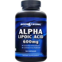 BodyStrong Alpha Lipoic Acid (600mg) 180 caps