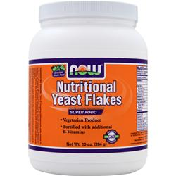 NOW Nutritional Yeast Flakes 10 oz