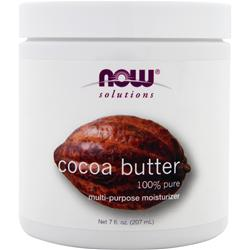NOW Cocoa Butter - 100% Pure 7 fl.oz