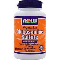 NOW Vegetarian Glucosamine Sulfate (750mg) 90 vcaps