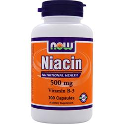 NOW Niacin (500mg) 100 caps