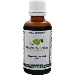 NATIVE REMEDIES Thyroid Assist 50 mL