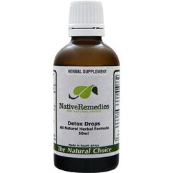 NATIVE REMEDIES Detox Drops 50 mL