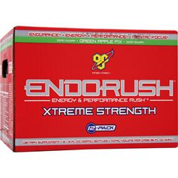 BSN Endorush Xtreme Strength RTD Green Apple Fix 12 bttls