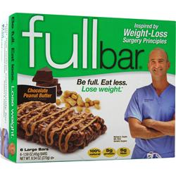 FULL BAR Full Bar Chocolate Peanut Butter 6 bars