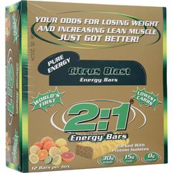 Metragenix 2:1 Protein Bar Citrus Blast 12 bars