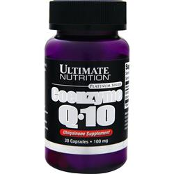 ULTIMATE NUTRITION Coenzyme Q-10 30 caps