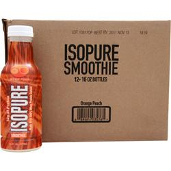 NATURE'S BEST Isopure Smoothie RTD Orange Peach 12 bttls