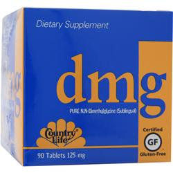 COUNTRY LIFE DMG (125mg) 90 tabs