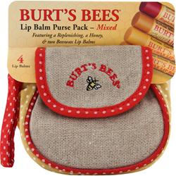 Burt's Bees Lip Balm Purse Pack Mixed  4 unit