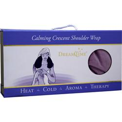 DREAMTIME Calming Crescent Shoulder Wrap Lavender Velvet 1 unit