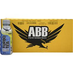 American Bodybuilding Diet Turbo Tea RTD Lemon 24 bttls