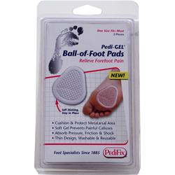 Pedifix Pedi-GEL - Ball-of-Foot Pads 2 unit