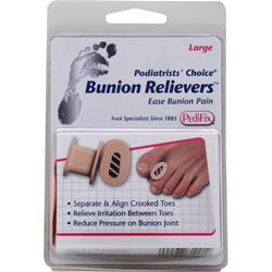PEDIFIX Podiatrists' Choice - Bunion Relievers Large 2 unit