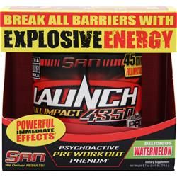 SAN Launch Full Impact 4350 Watermelon 9.7 oz