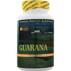 NATURE'S SCIENCE Guarana 22% Caffeine (1000mg) 60 caps