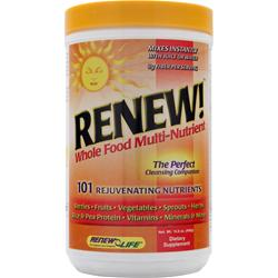 RENEW LIFE RENEW! Whole Food Multi-Nutrient = 15.9 oz