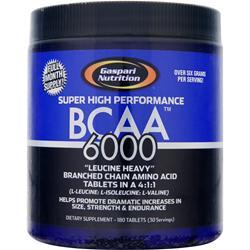 GASPARI NUTRITION BCAA 6000 180 tabs