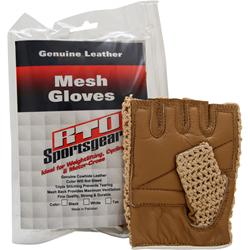 RTO Mesh Gloves Tan - Medium 2 glove