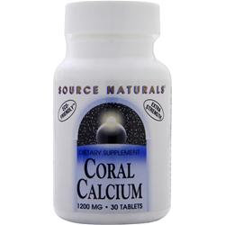 SOURCE NATURALS Coral Calcium (1200mg) 30 tabs