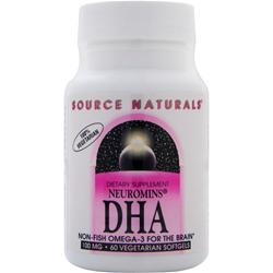 SOURCE NATURALS Neuromins DHA (100mg) 60 vcaps