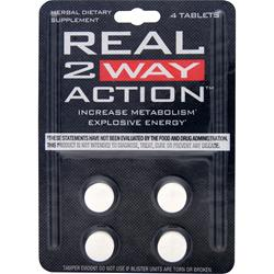 NVE PHARMACEUTICALS Real 2 Way Action * 12 tabs